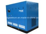 정지되는 회전하는 지시한다 몬 기름에 의하여 주사된 나사 공기 압축기 (KE132-08)를
