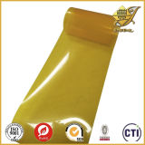 Film 2015 transparent de PVC de jaune de la Chine pour l'emballage transparent