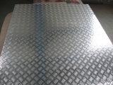 밝은 알루미늄 checkered 격판덮개