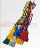 Hersteller der verschiedenen Farben-Staffelung-Troddel-Ehrennetzkabel