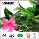 Seto verde natural barato casero de la planta de la flor artificial que cultiva un huerto