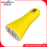 Gadget du téléphone mobile 2 Adaptateur USB double chargeur voiture
