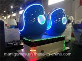 Equipo divertido 2016 del simulador del solo asiento del cine de Vr del huevo del parque de atracciones 5D 7D 9d