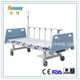 Китайская больничная койка 2-Рукояток изготовления