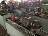Manguera metal-gas acanalada que forma la máquina