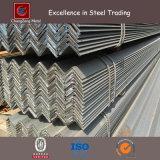 Barra de acero laminada del ángulo del acero suave para la construcción (CZ-A10)