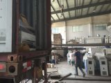 고품질 목제 문 단면도 플라스틱 밀어남 기계 생산 라인