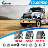 放射状のトラックのタイヤ、点ECEが付いているTBRのタイヤ1200r20-20