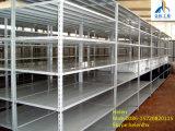 Shelving de aço personalizado do ângulo claro do dever para o armazenamento do armazém
