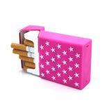 Caixa de cigarro de venda quente enchida estrela do silicone