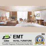 De eenvoudige Reeks van de Slaapkamer van het Hotel van de Stijl Houten (emt-B0904)