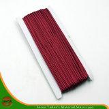 шнур Бобби упаковки красного цвета вина 3mm малюсенький