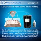 Gomma del modanatura del pneumatico del silicone di RTV