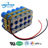 ODM cilíndrico del paquete de la batería de 24V LiFePO4