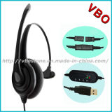 3.5mm Headset con la call center Headset di Noise Cancelling Microphone per Mobile