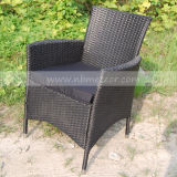 Silla de mimbre de la estructura de Kd de los muebles de la rota del jardín para al aire libre (MTC-055)