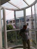 Hoher Standard-Aluminium gebogenes schiebendes Fenster (BHA-SWA02)