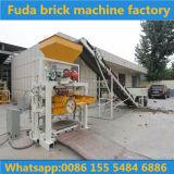 Automatische blockierenlehm-Ziegeleimaschine, die Zeile bildet