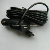 De Adapter van de auto USB met de Lijn van 3.5 Meter voor Auto DVR en Mobiele Telefoon
