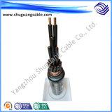Câble de commande protégé par cuivre de conducteur de conducteur