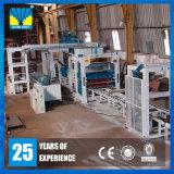 Popular no bloco do competidor do Paver do cimento de África que faz a máquina