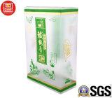 Складывая коробка PP пластичная, пластичная коробка для чая, лидирующая пластичная коробка PP офсетной печати пластичная с штемпелевать золота