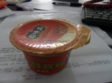 Macchina di plastica del coperchio di sigillamento della tazza dell'imballaggio della capsula a gettare del caffè