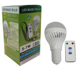 Lámpara de emergencia 7W LED recargable con mando a distancia
