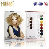 Diagramme d'ombre de couleur de cheveux de qualité de 64 couleurs