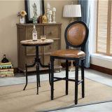 단단한 Wood Frame Tall Bar Tables 및 Chairs Set
