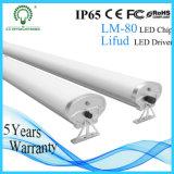 Luz del tubo de IP65 LED Triproof con UL TUV de RoHS SAA del Ce para la iluminación de /Tunnel del estacionamiento