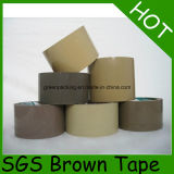 낮은 시끄러운 명확한 브라운 OPP 판지 밀봉 테이프