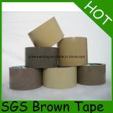 Bande claire bruyante inférieure de cachetage de carton de Brown OPP