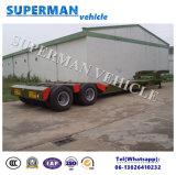 rimorchio del carico del rimorchio del camion del carrello ferroviario Lowdeck/Lowbed/Lowloader dell'asse 60t 4 di 10.5m semi