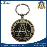 Metal feito sob encomenda Keychain da liga do zinco para a venda