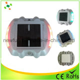 Borne solaire en aluminium r3fléchissante de route de plot réflectorisé de DEL