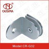 Ferragem de vidro da fixação da divisória do banheiro de 90 graus (CR-G30)