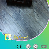 Suelo laminado impermeable raspado mano del roble de Household12.3mm AC4