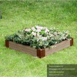 Potenciômetro de flor impermeável do jardim de WPC