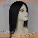 Parrucca diritta delle donne del merletto rivestito pieno dei capelli umani