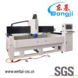 Máquina de polonês de vidro da borda do CNC da elevada precisão para o vidro da mobília