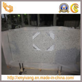 Countertop Vanity Top (G655)のための安いDaotian White Granite Slab
