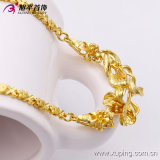 Form Xuping Elegant 24k Gold-Plated Necklaces mit Flower in Environmental Copper 42711