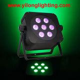 Lampada senza fili di PARITÀ LED di 15W Rgbaw per il randello americano del DJ