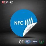 Escritura de la Etiqueta de Papel de la Etiqueta Engomada de 13.56MHz Ntag213/Ultralight/RFID NFC