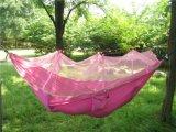 [بورتبل] نيلون مظلّة هبوط ضعف سرير معلّق لأنّ حديقة يخيّم