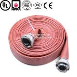 Tubo del artículo del PVC del manguito flexible de la regadera del fuego de la lona