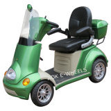 500W de gehandicapte Vierwielige Elektrische Autoped van de Mobiliteit voor Oudere Mensen (S-029)