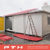 Полуфабрикат проект дома контейнера в холодной зоне Финляндии