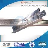 Techo / acero galvanizado Sistema de la suspensión de la rejilla de T (ISO, SGS certificated)